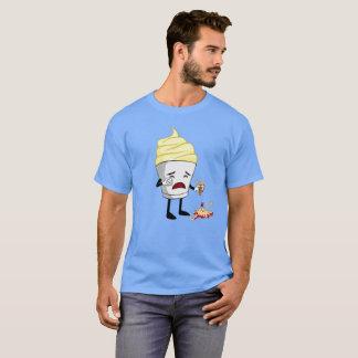 Camiseta Ice Cream crying Funny T-shirt