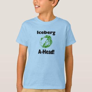 Camiseta iceberg a continuación