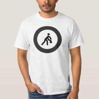 Camiseta Icono blanco y negro del BALONCESTO el   en