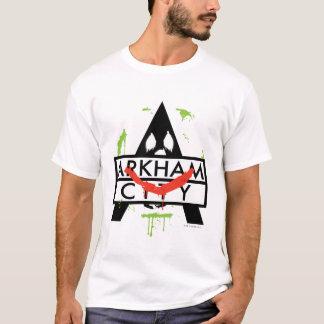Camiseta Icono de la ciudad de Arkham con las marcas 2 del