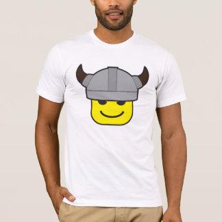 Camiseta icono del guerrero de vikingo