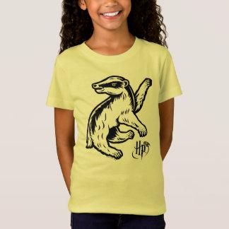 Camiseta Icono del tejón de Harry Potter el | Hufflepuff