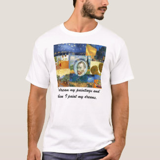 Camiseta ideal de las pinturas de Van Gogh