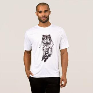 camiseta ideal del lobo del colector de los yuyass