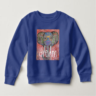 Camiseta ideal del niño del elefante de la