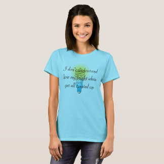 Camiseta Ideas brillantes torcidas