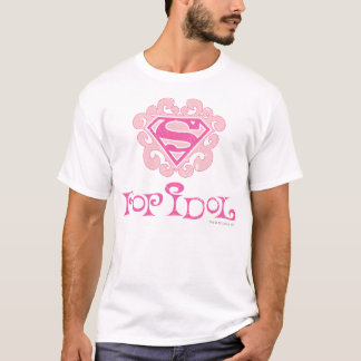 Camiseta Ídolo de estallido de Supergirl