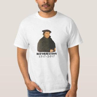 Camiseta Iglesia luterana de Martin Luther de la reforma