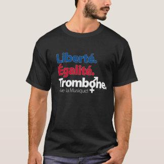 Camiseta Igualdad del Trombone - OSCURIDAD