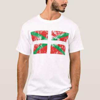 Camiseta Ikurriña desgastada