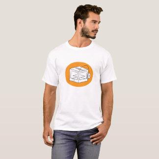 Camiseta ilustracion de la impresora 3D