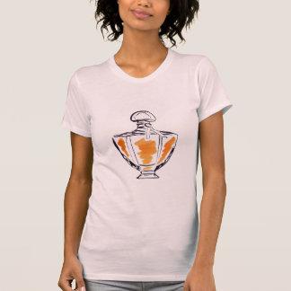 Camiseta Ilustracion del watercolour de la moda de la
