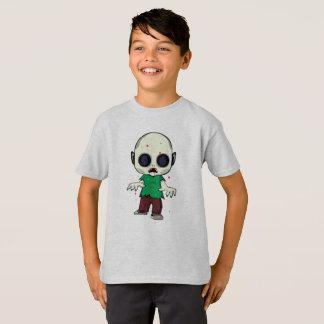 Camiseta Ilustracion del zombi