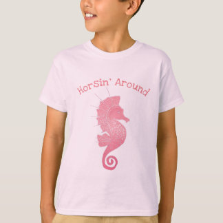 Camiseta Ilustraciones caprichosas y adorables del Seahorse