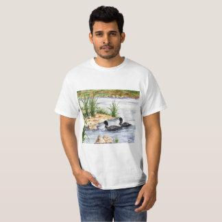Camiseta Ilustraciones del Watercolour impresas en una