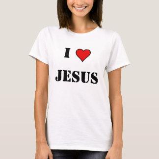 Camiseta imagen del corazón, I, JESÚS