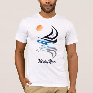 Camiseta Imagen y texto de encargo de la plantilla de la