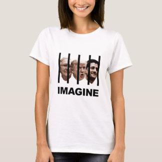 Camiseta Imagínese el triunfo, McConnell y a Ryan detrás de