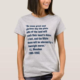 Camiseta Imbécil de la Casa Blanca