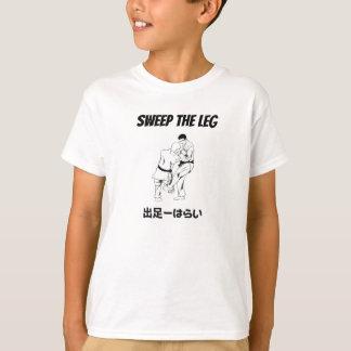 Camiseta Imperio-Barrido del judo la pierna