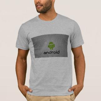 Camiseta impresa androide