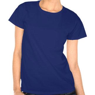 Camiseta impresa cita azul