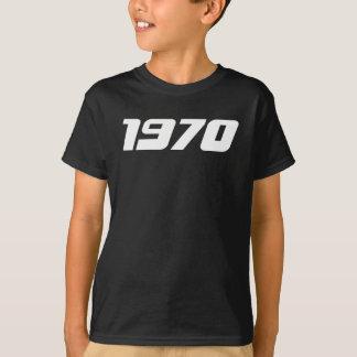 Camiseta Impresión agradable 1970