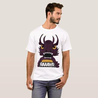 Camiseta + Impresión del dragón
