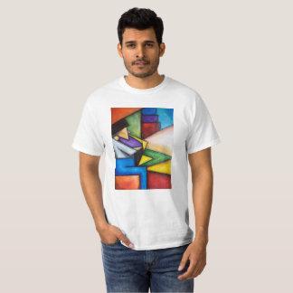 Camiseta Impresión del extracto del jugador de saxofón en