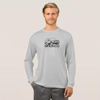 Camiseta Impresión delantera 1992-1996 del negro del