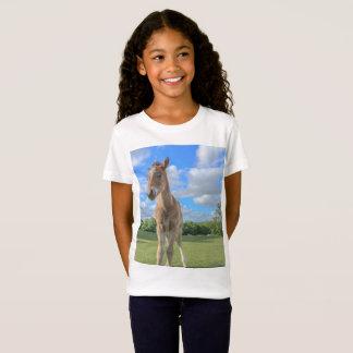 Camiseta Impresión linda del caballo - nuevo potro del