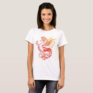 Camiseta impresionante del dragón