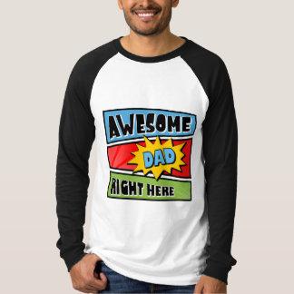 Camiseta impresionante del papá