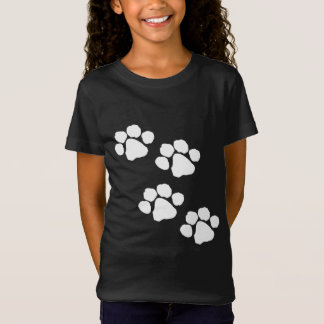 Camiseta Impresiones animales de la pata