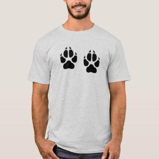 Camiseta Impresiones del lobo