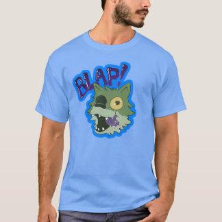 Camiseta ¡Impulso el perrito de lobo del zombi - BLAP!