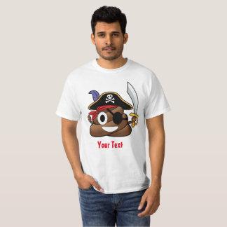Camiseta Impulso Emoji Halloween del pirata
