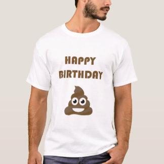 Camiseta Impulso lindo divertido Emoji del fiesta del feliz