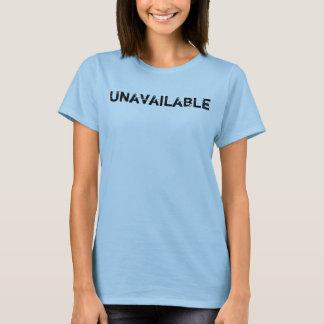 Camiseta Inasequible déjelos saben el mensaje