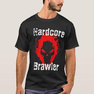 Camiseta incondicional del negro del camorrista