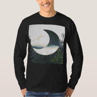Camiseta Inconformista de la luna de la montaña