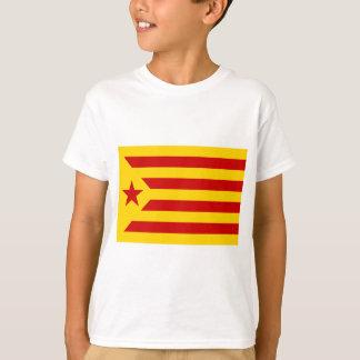 Camiseta Independentista Catalana de Estelada Roja - de