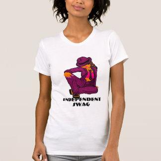 Camiseta independiente de las Swag-Señoras