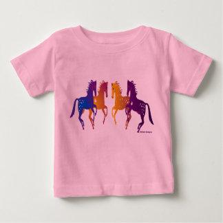Camiseta india del niño de los potros