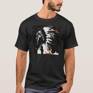 Camiseta Indio del nativo americano