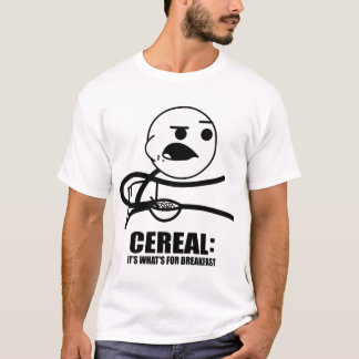 Camiseta Individuo del cereal