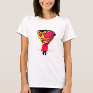 Camiseta Individuo del dibujo animado