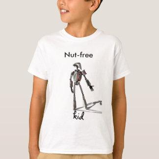 Camiseta Individuo del robot - no alimente ninguna nuez