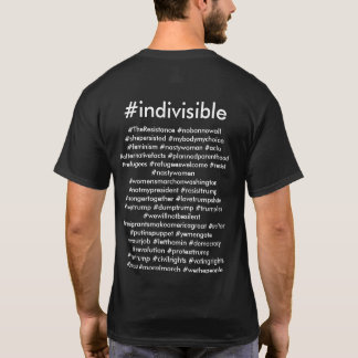 Camiseta #indivisible
