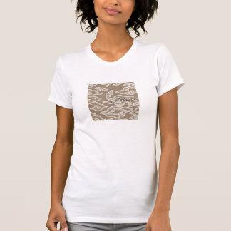 "camiseta indonesia del adorno del batik del ""jawa"""